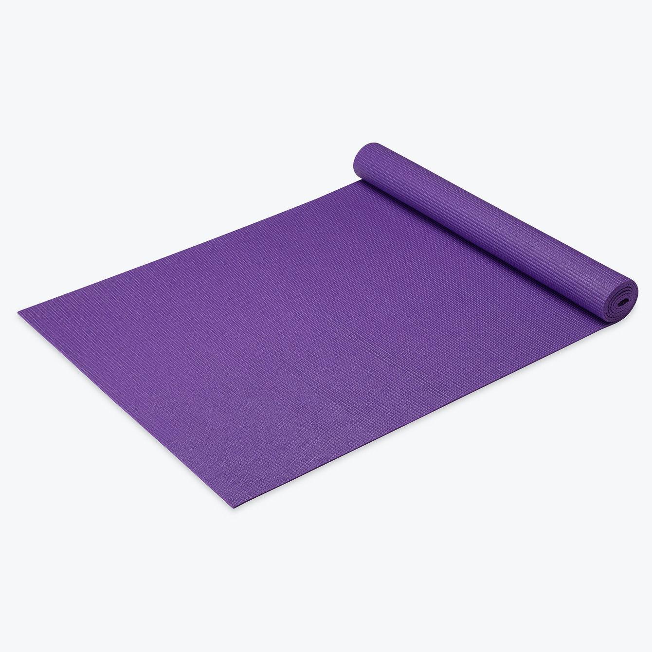 Gaiam 3mm Yoga Mat Purple