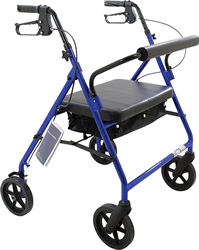 Roscoe Bariatric Rollator with 8