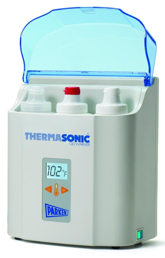 Thermosonic® 3 Bottle Ultrasound Gel Warmer with LCD Screen