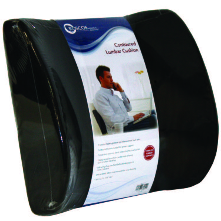 Contoured Lumbar Back Cushion