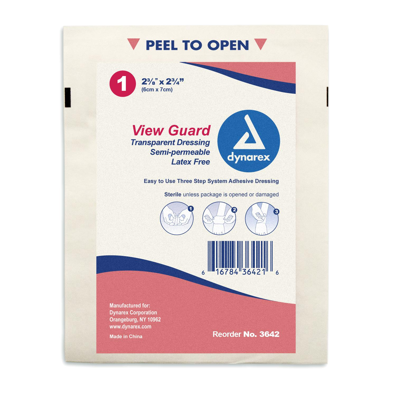 View Guard Transparent Dressings 2 3/8