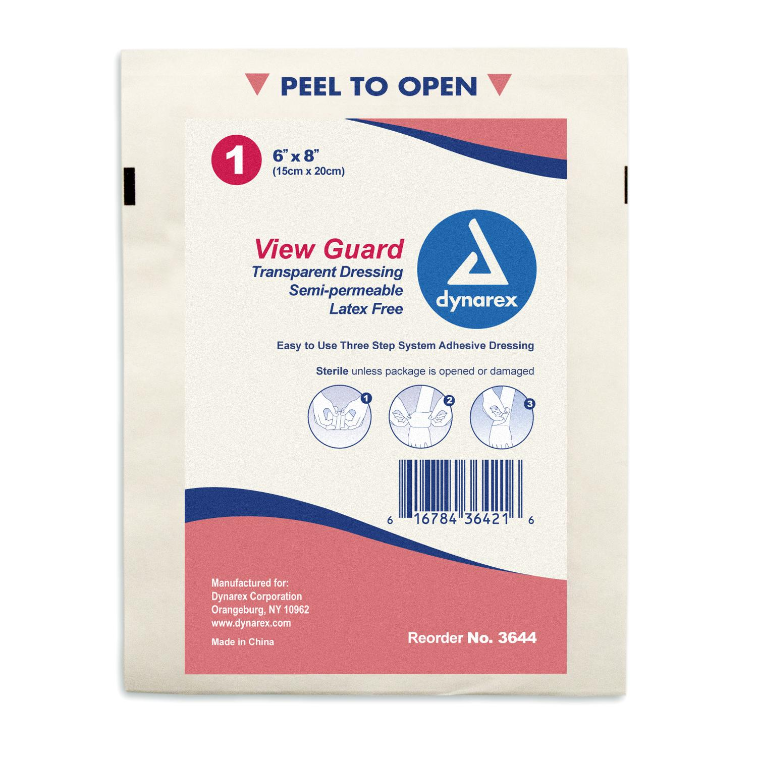 View Guard Transparent Dressing 6