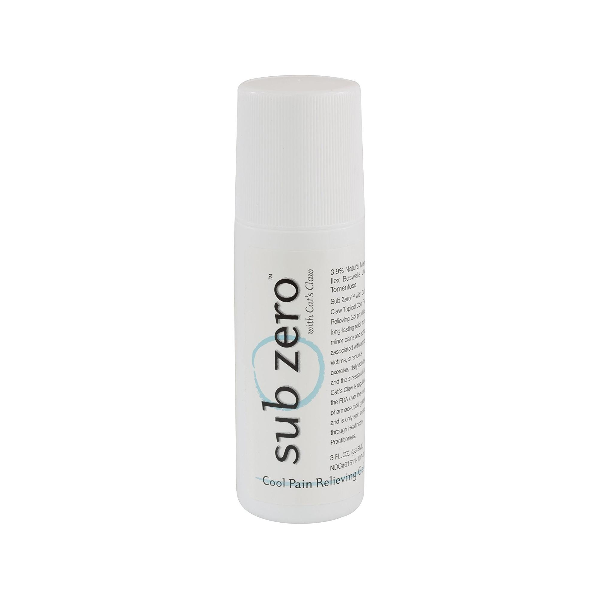 Sub Zero™ Cool Pain Relieving Gel 3 oz Roll-On