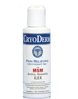 CryoDerm® Pain Relieving Cold Therapy Gel 4oz