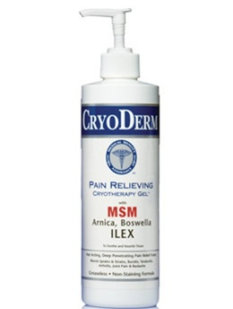 CryoDerm® Pain Relieving Cold Therapy Gel 16oz