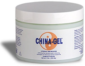 China-Gel® Topical Pain Reliever 4 oz Jar Green
