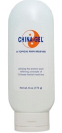 China-Gel® Topical Pain Reliever 6 oz Tube Green
