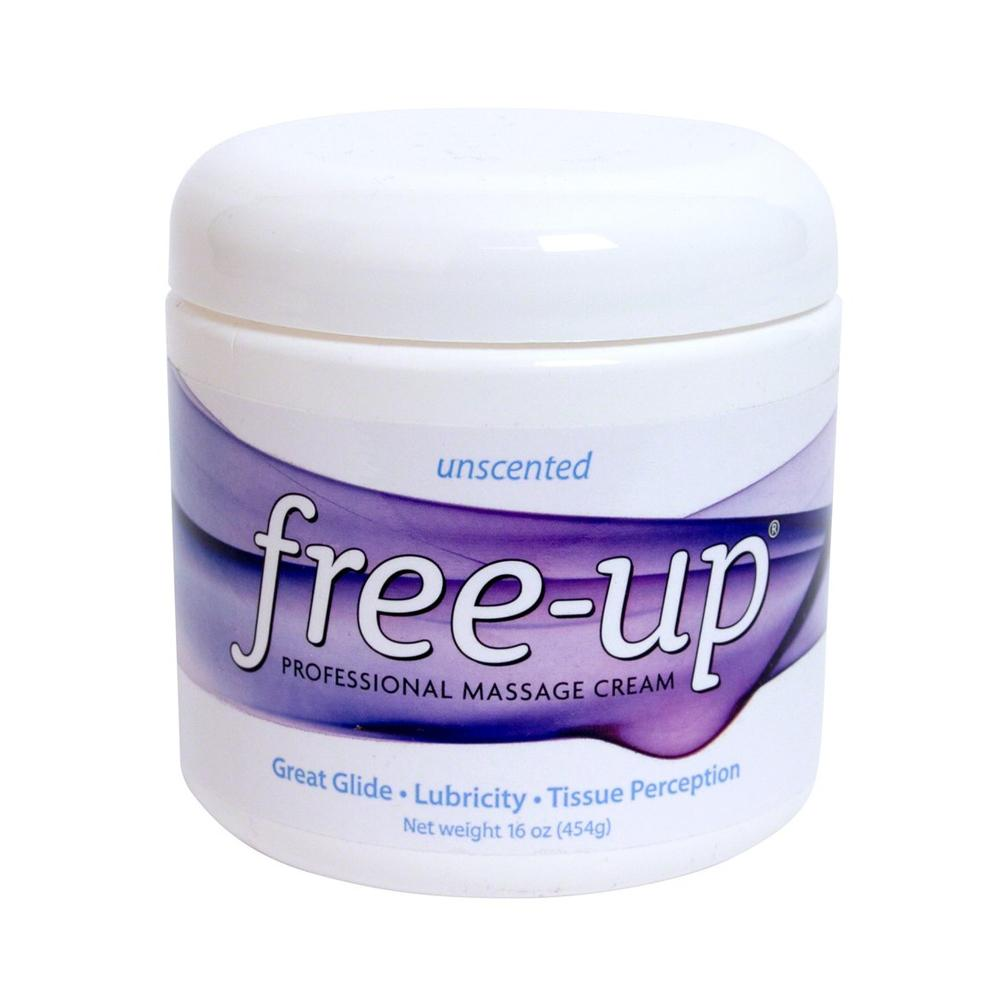Free-Up® Massage Cream 16 oz Unscented