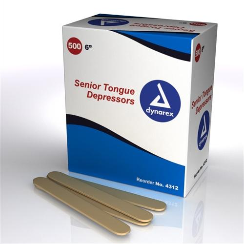 Tongue Depressors Non Sterile 500/box