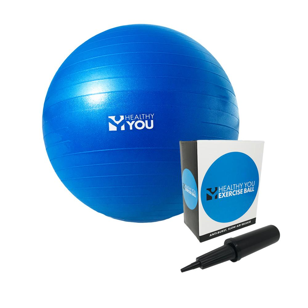 Healthy You™ Anti Burst Exercise Ball 55cm Blue