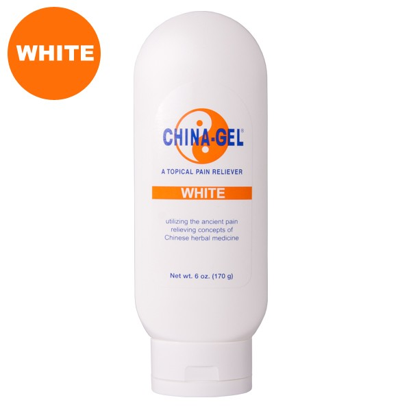China-Gel® Topical Pain Reliever 6 oz Tube White