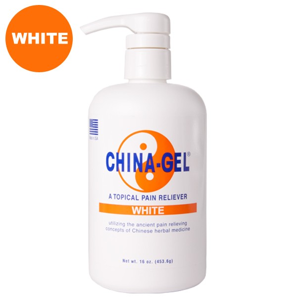China-Gel® Topical Pain Reliever 16 oz Pump White