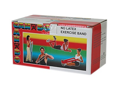 Cando® No Latex Exercise Band 6 yd Tan XX-Light