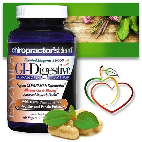 Chiropractor's Blend™ GI-Digestive Enzymes 950 60 Capsules