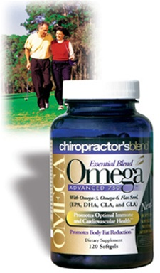 Chiropractor's Blend™ Essential Blend Omega 750 120 Softgels