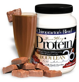 Chiropractor's Blend™ Pure Whey Protein Body Lean 36 Chocolate 2 lbs