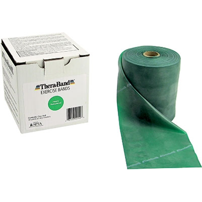 Thera-Band® Exercise Bands 50 Yard Roll Green Heavy