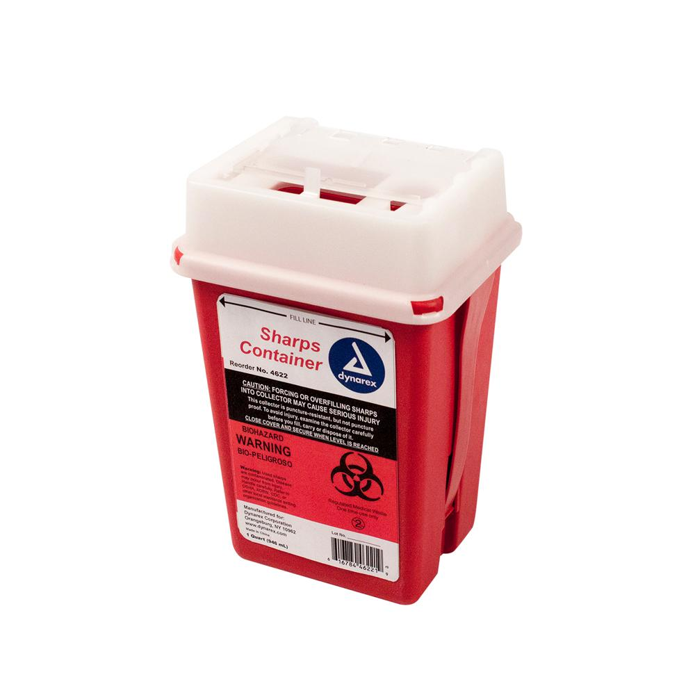 Dynarex Sharps Container - 1 qt