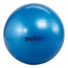 Thera-Band® Pro Series Slow-Deflate Exercise Balls 75 cm Blue