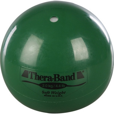 Thera-Band® Soft Weights 2.0 kg Green 4.4 lbs