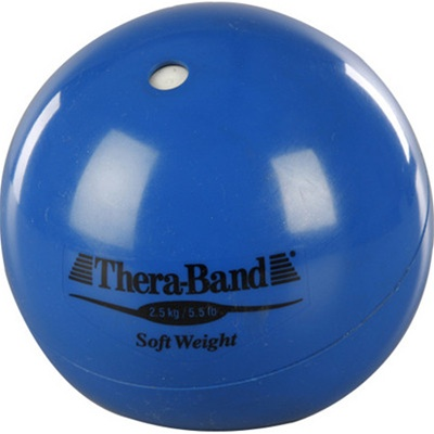 Thera-Band® Soft Weights 2.5 kg Blue 5.5 lbs
