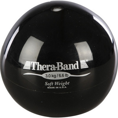 Thera-Band® Soft Weights 3.0 kg Black 6.6 lbs