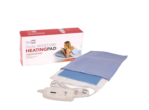 Thera-Med® Professional Dual Moist-Dry Heating Pad Standard 12