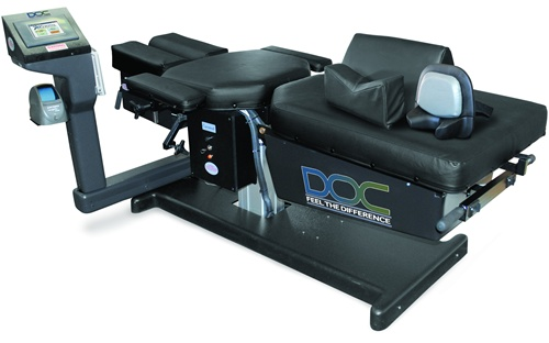 Pivotal Health DOC Decompression Table Black Base