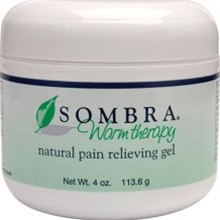 Sombra® Warm Therapy Pain Relieving Gel 4 oz Jar