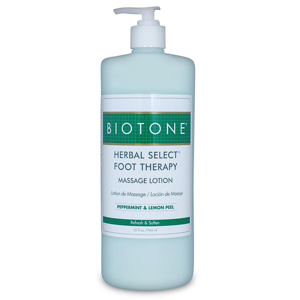 Biotone® Herbal Select® Therapy Foot Lotion 32 oz Pump