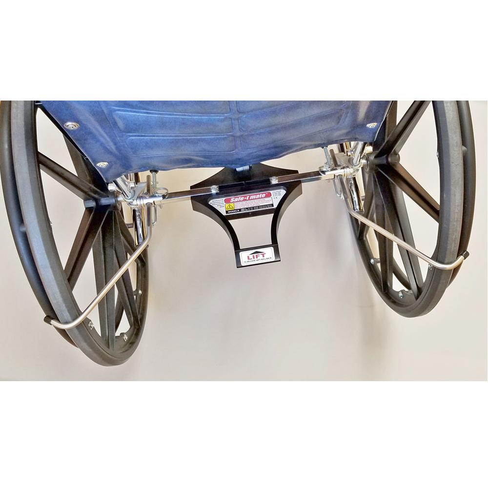 "Safe-T Mate® SM2-3 Wheelchair Anti-rollback Device 16""-20"" Wide Chairs"