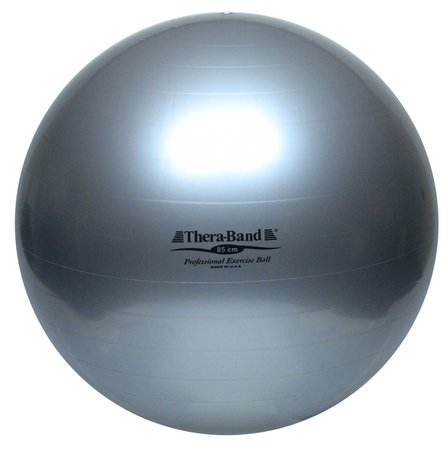 TheraBand Exercise Ball 85cm Silver