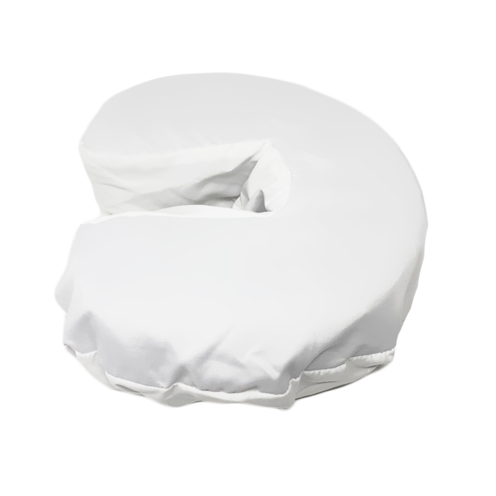 Healthy You™ Microfiber Massage Face Cradle Cover - White