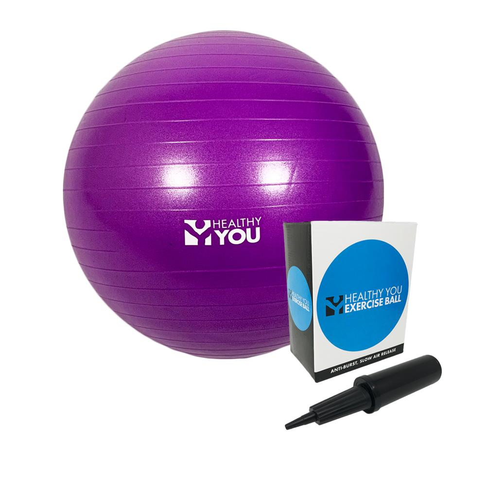 Healthy You™ Anti Burst Exercise Ball 45cm Purple