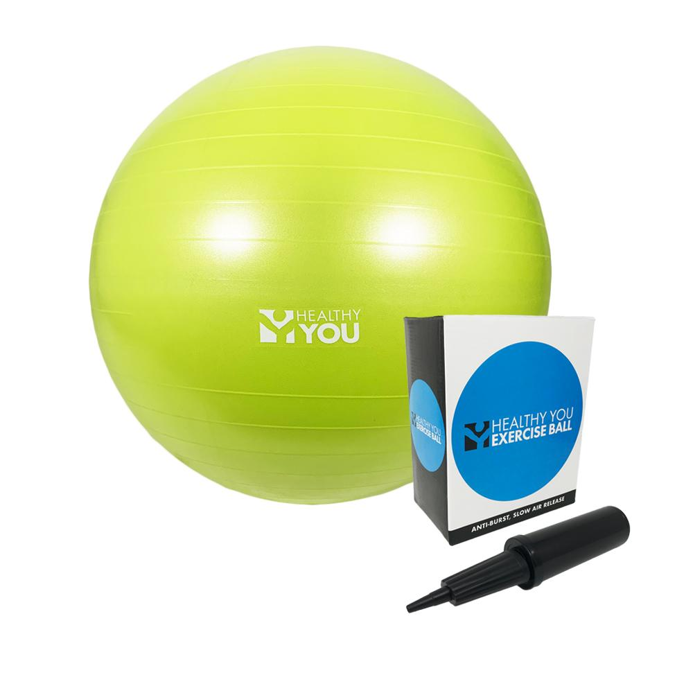 Healthy You™ Anti Burst Exercise Ball 85cm Lime