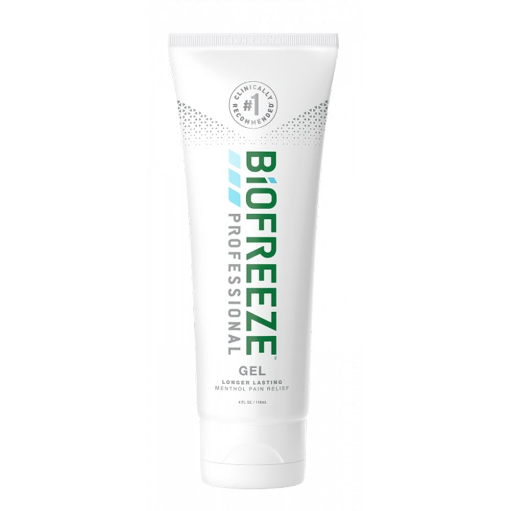 Biofreeze Professional Pain Relieving Gel 4 oz Tube - Colorless