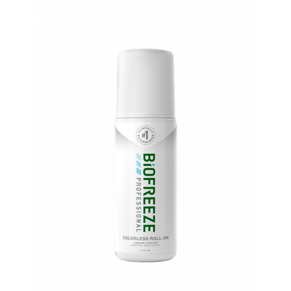 Biofreeze Professional Pain Relieving Roll-On 3 oz - Colorless